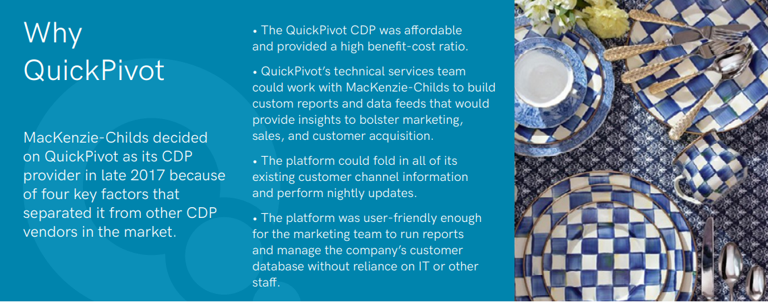 Why QuickPivot