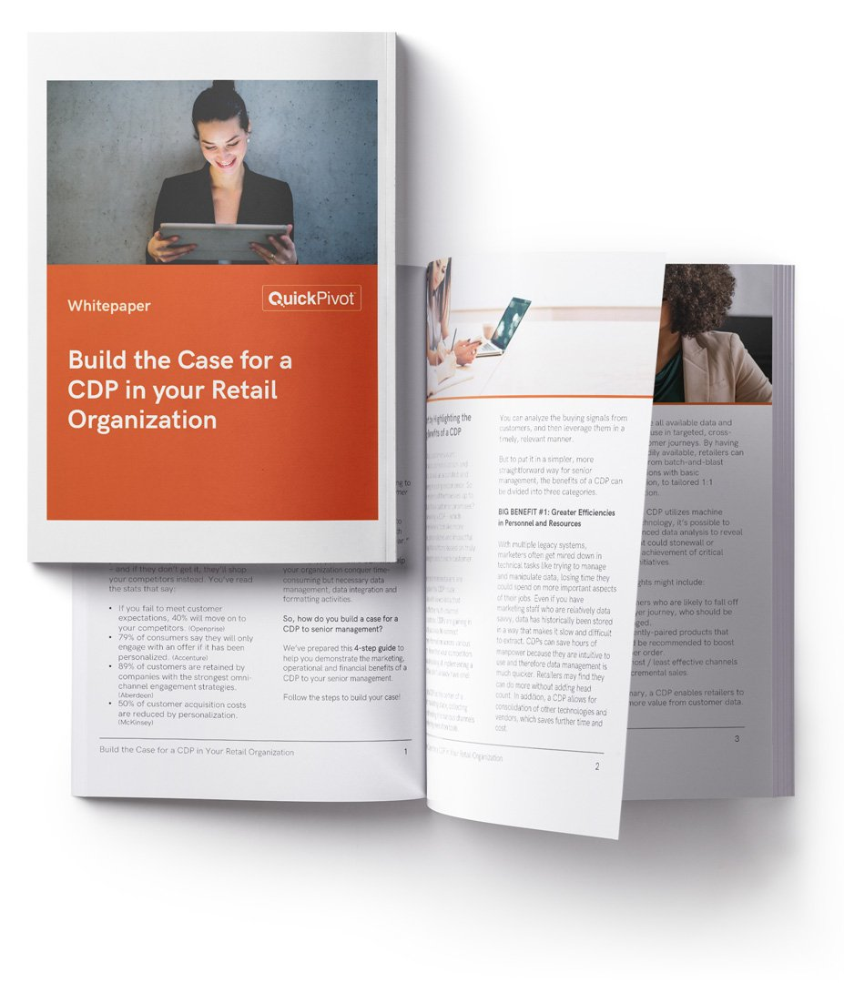 build the case for a cdp in your organization